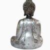 Escultura de Budha com Mudras Prata