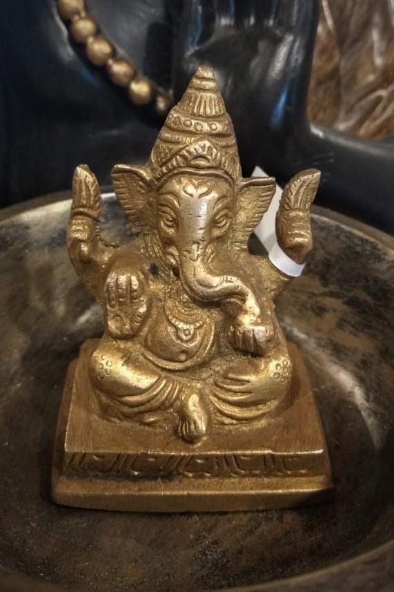 Escultura em Bronze Ganesh P 6.5