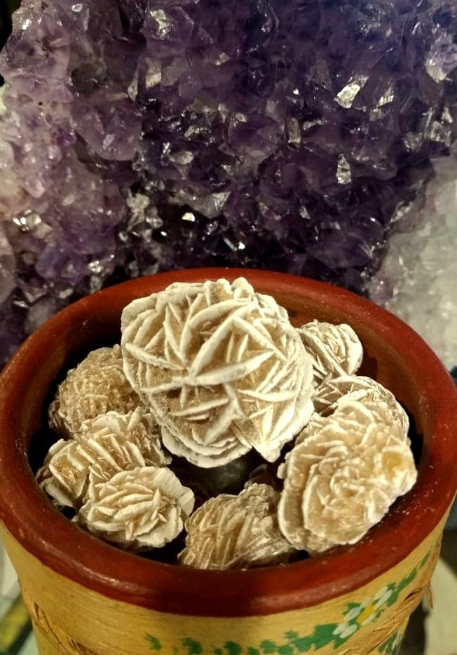Pedras Naturais Rosa do Deserto