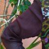 Túnica em Crepe África com Bordados Coloridos