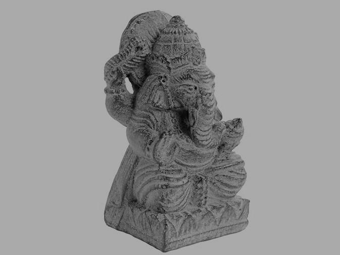 Ganesh Santhi em Pedra